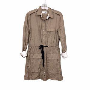 Rag & Bone Tan Dress Tunic Shirt